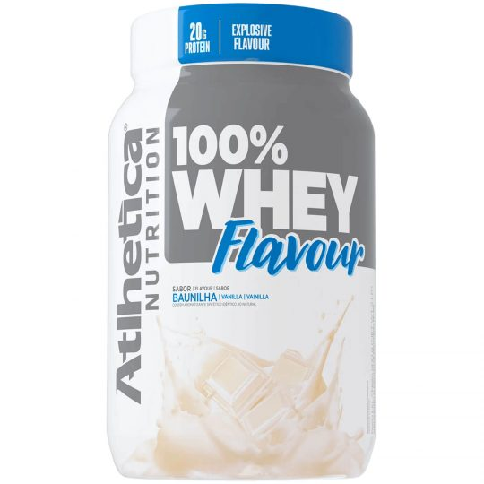 WHEY FLAVOUR 100% ATLETHICA